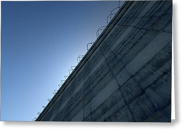 Huge High Security Wall Greeting Card by Allan Swart
