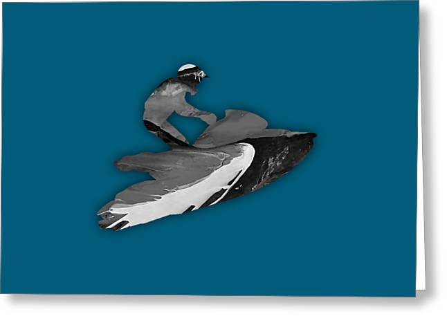 Jet Ski Collection Greeting Card