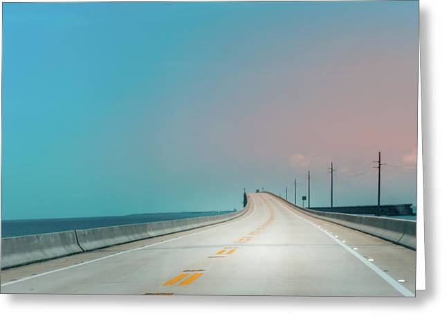 7 Mile Bridge Greeting Card