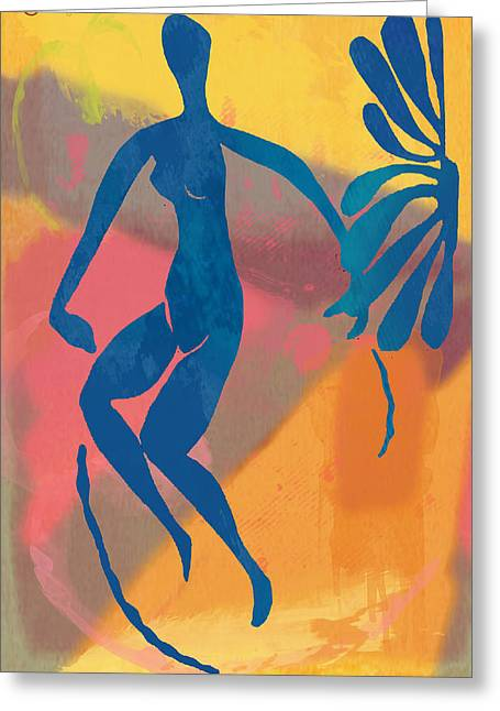 New Pop Art Nude Poster   Greeting Card
