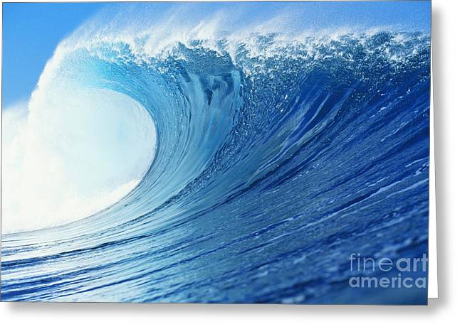 Perfect Wave At Pipeline Greeting Card