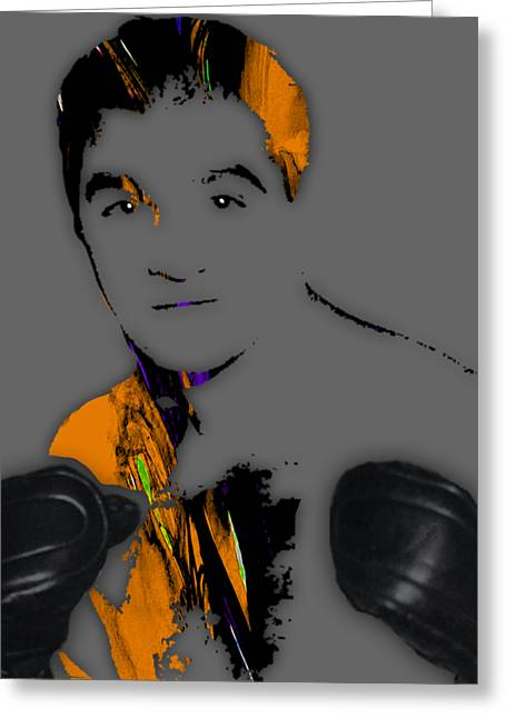 Rocky Marciano Collection Greeting Card by Marvin Blaine