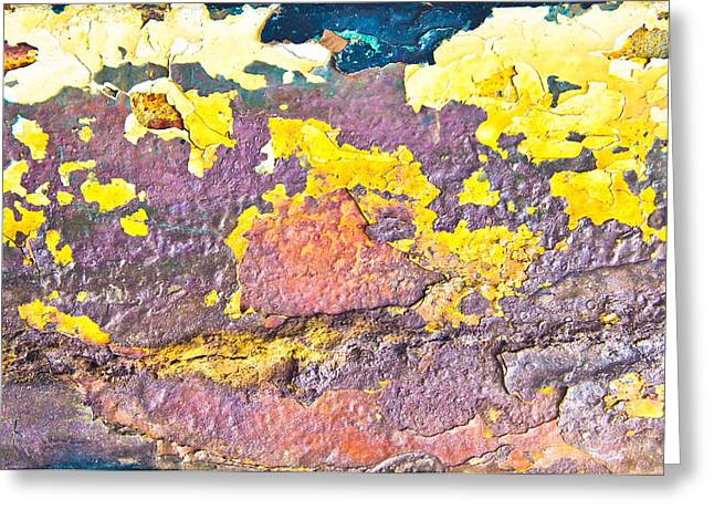 Rusty Metal Greeting Card