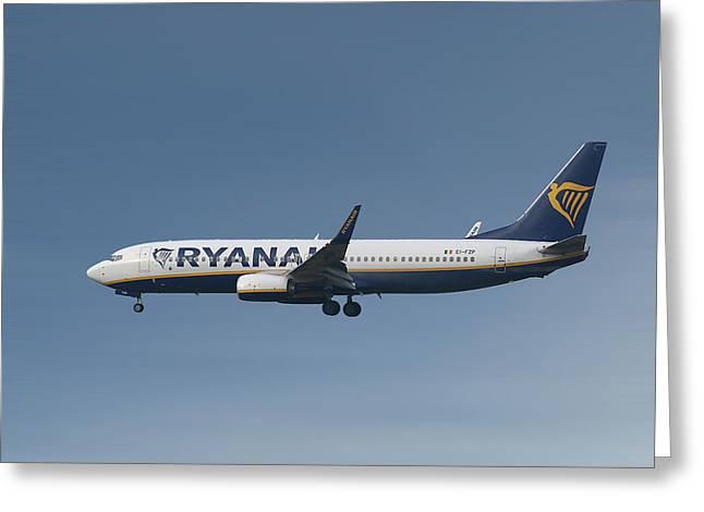 Ryanair Boeing 737-8as  Greeting Card