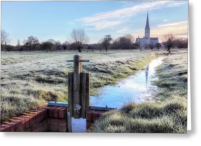Salisbury - England Greeting Card