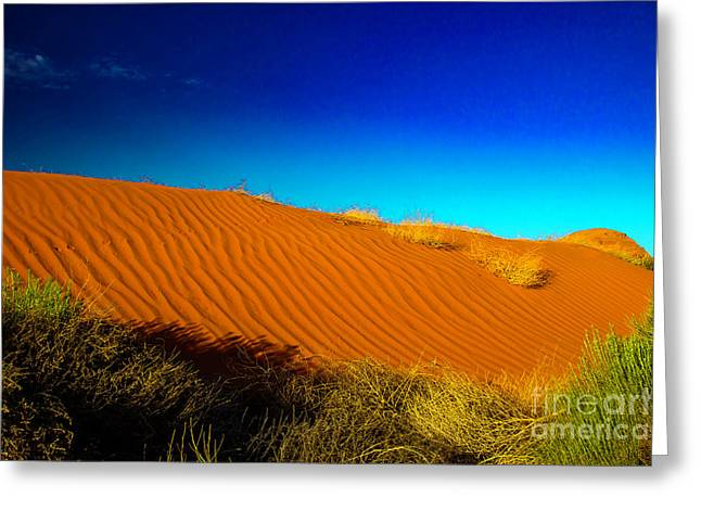 Sand Dune Greeting Card