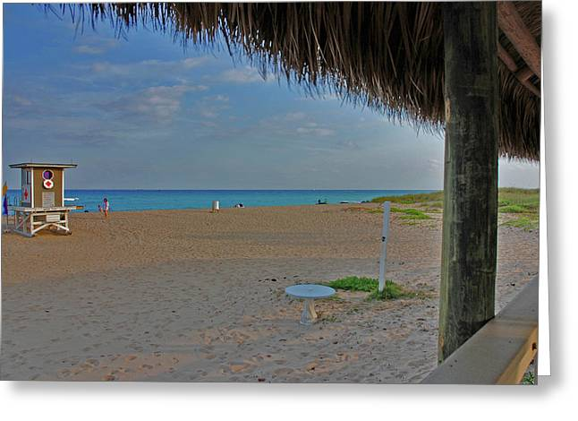 Greeting Card featuring the photograph 7- Southern Beach by Joseph Keane