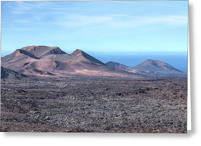 Timanfaya - Lanzarote Greeting Card by Joana Kruse