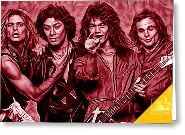Van Halen Collection Greeting Card