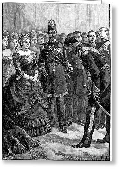 Victoria Of England Greeting Card by Granger