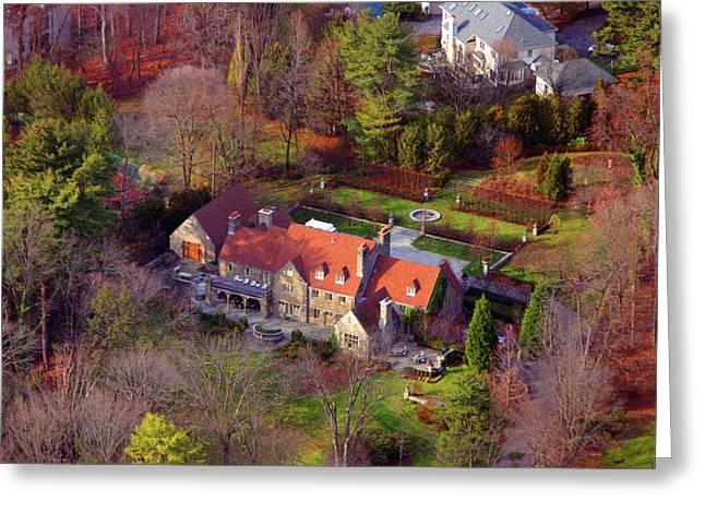 744 Merion Square Road Gladwyn Pennsylvania Greeting Card by Duncan Pearson