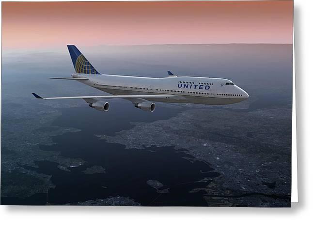 747twilight Greeting Card