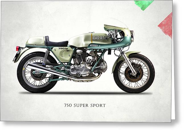 750ss 1974 Greeting Card by Mark Rogan