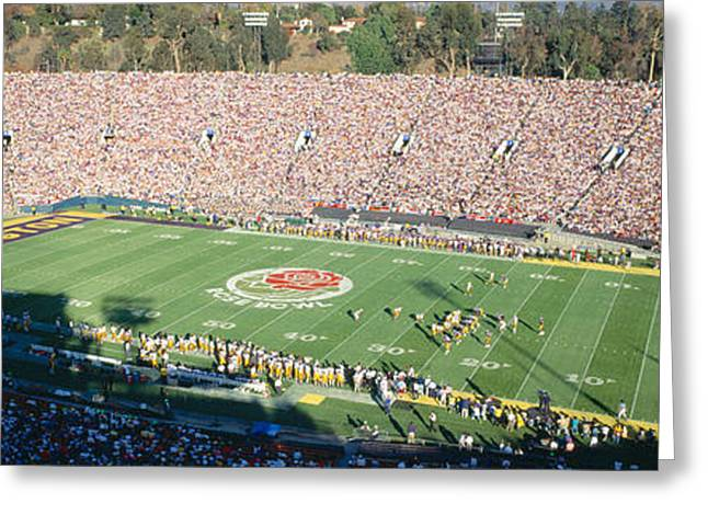 77th Rose Bowl Game, Washington V Greeting Card by Panoramic Images