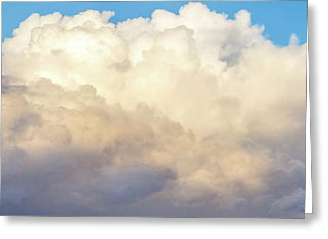 Greeting Card featuring the photograph Clouds by Les Cunliffe