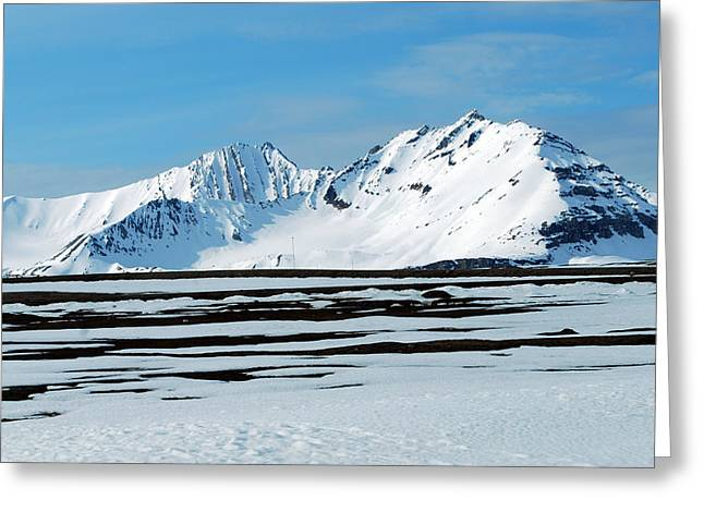 79 Degrees North B Greeting Card by Terence Davis