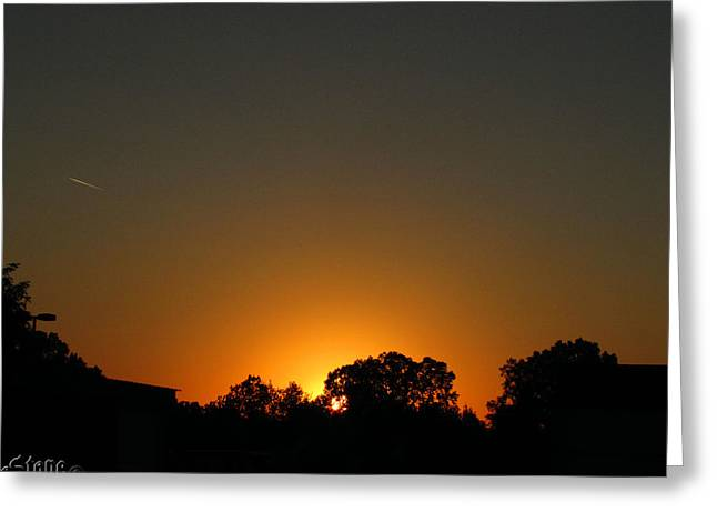 7am Sunrise Greeting Card