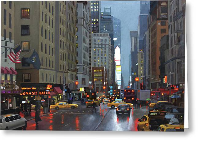 7th Avenue Greeting Card