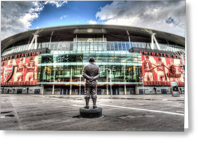 Arsenal Fc Emirates Stadium London Greeting Card