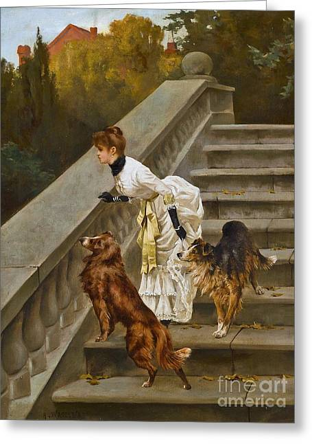 Arthur Wardle Greeting Card by MotionAge Designs