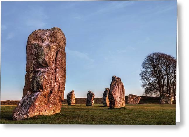 Avebury - England Greeting Card