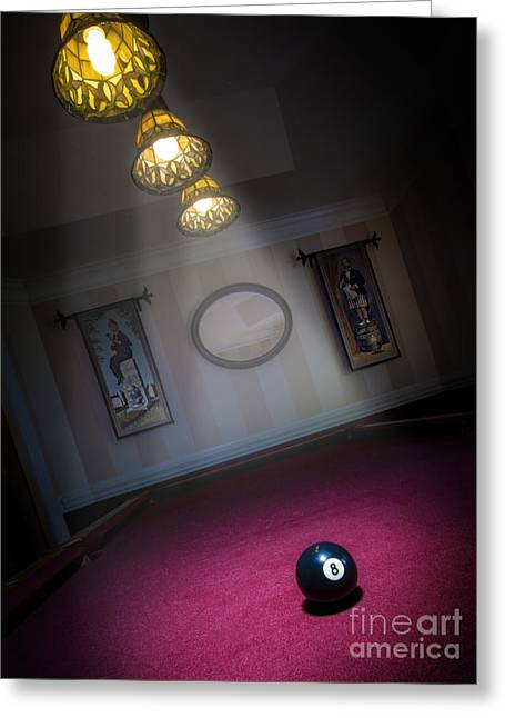 Greeting Card featuring the photograph 8 Ball by Brian Jones