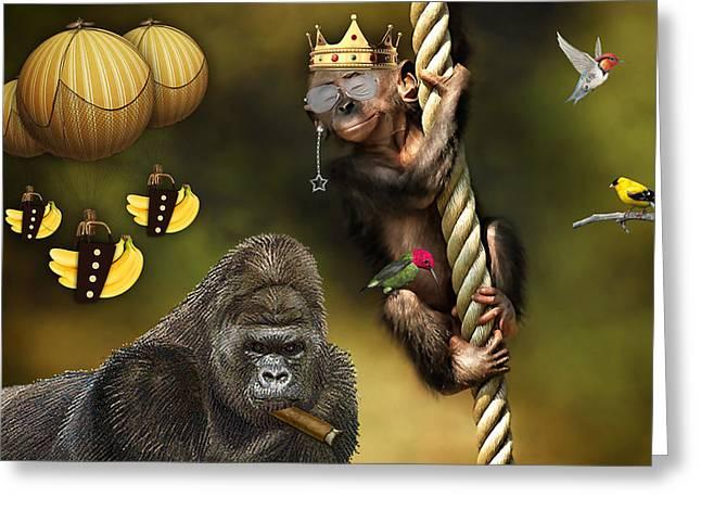 Bananas Greeting Card