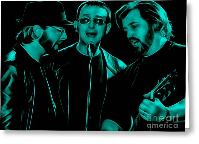 Bee Gees Collection Greeting Card