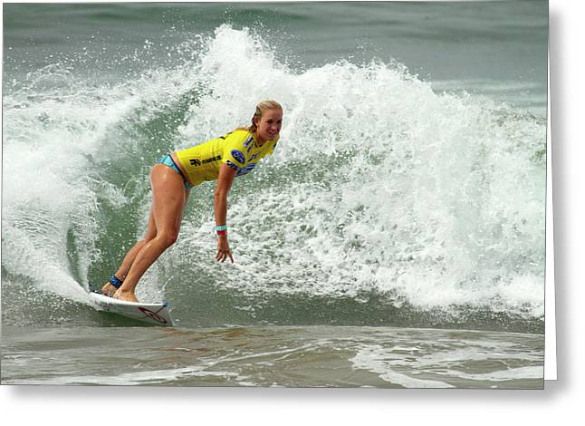 Bethany Hamilton Greeting Card