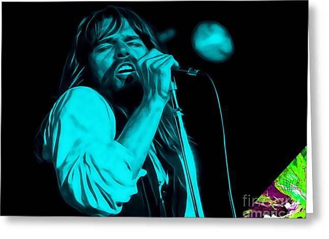 Bob Seger Collection Greeting Card