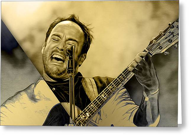 Dave Matthews Collection Greeting Card by Marvin Blaine