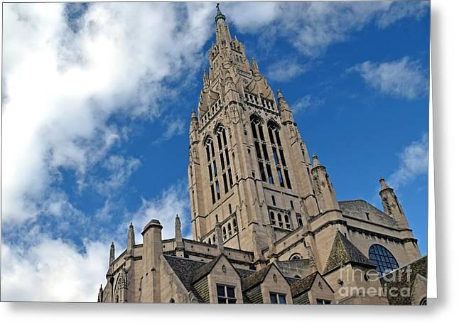 East Liberty Presbyterian Church Greeting Card by Ben Schumin