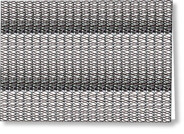 Fineart From Wire Mesh Jewellery Unique Patterns N Textures By Navinjoshi At Fineartamerica.com Usa  Greeting Card by Navin Joshi