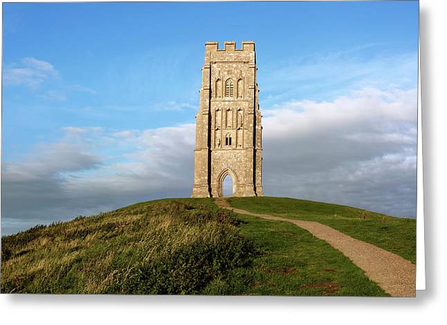 Glastonbury Tor - England Greeting Card by Joana Kruse