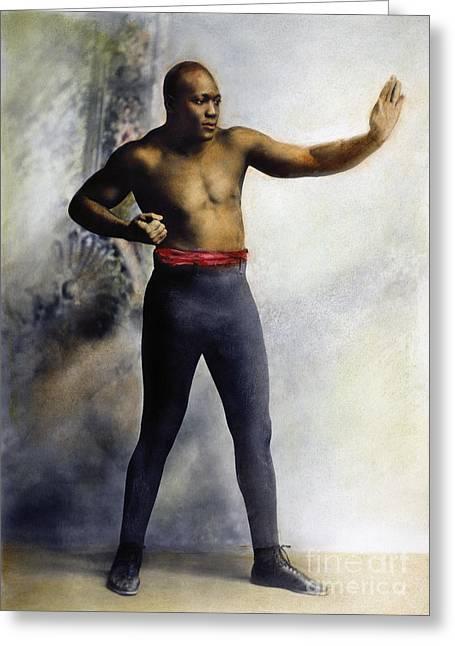 Jack Johnson (1878-1946) Greeting Card by Granger