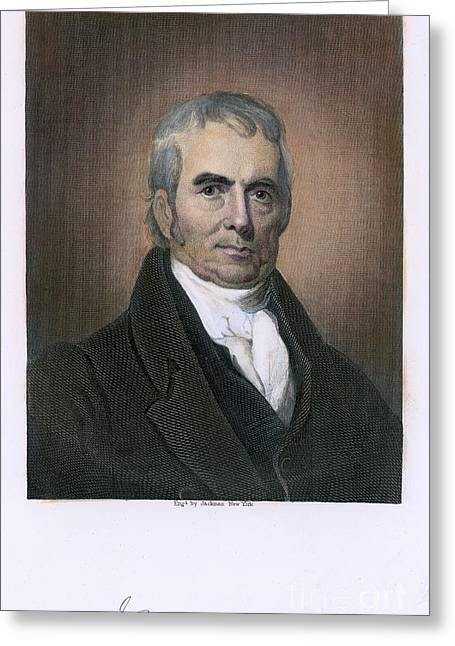 John Marshall (1755-1835) Greeting Card by Granger