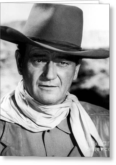 John Wayne (1907-1979) Greeting Card by Granger
