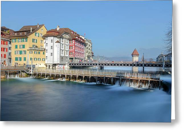 Lucerne - Switzerland Greeting Card
