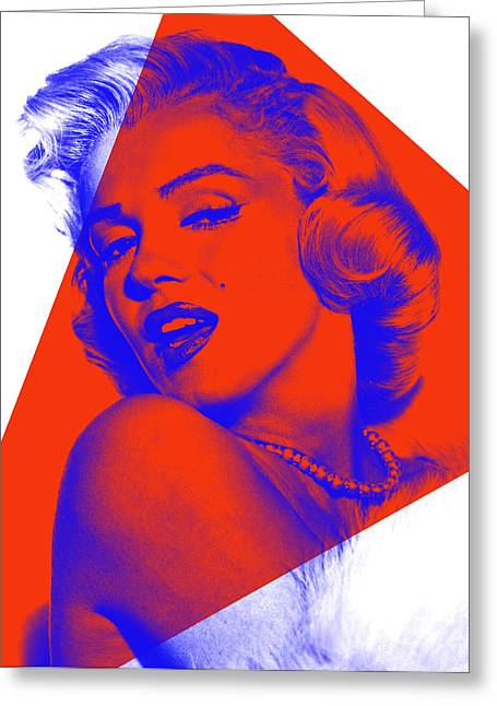 Marilyn Monroe Collection Greeting Card