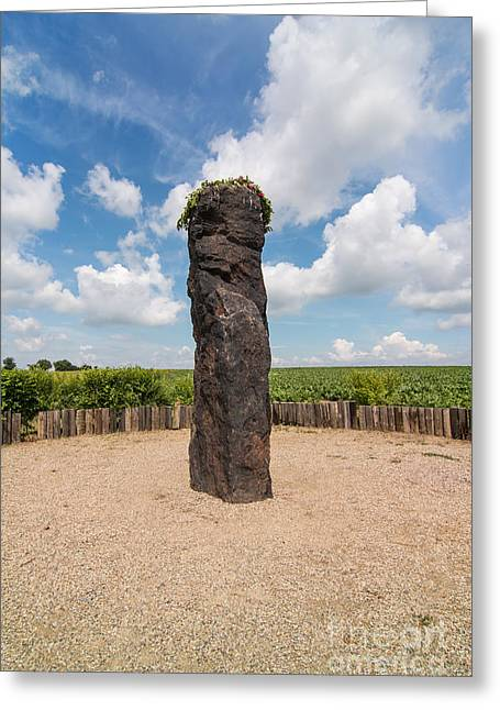 Menhir Stone Shepherd Greeting Card