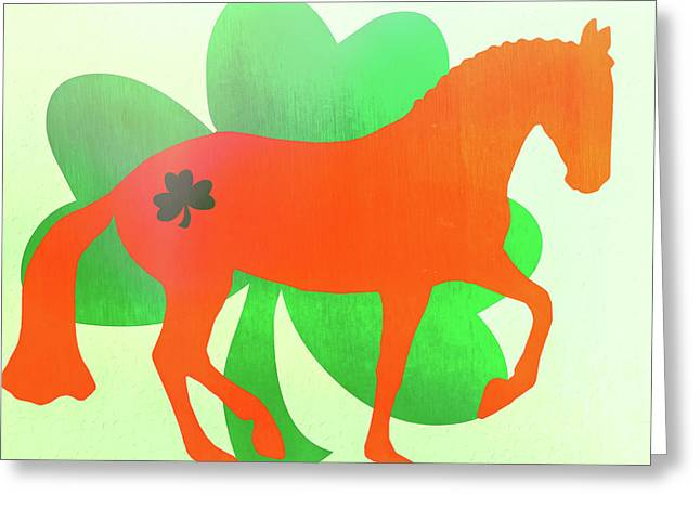 Celtic Piaffe  Greeting Card by JAMART Photography