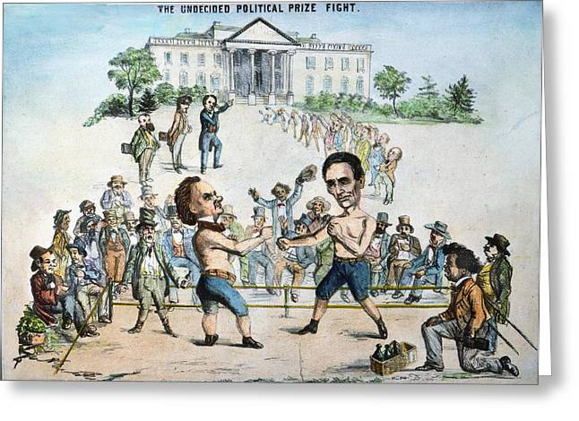 Presidential Campaign, 1860 Greeting Card by Granger