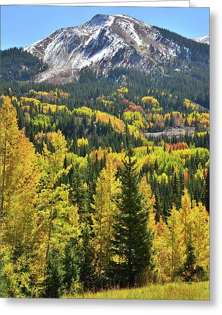 Greeting Card featuring the photograph Red Mountain Pass by Ray Mathis