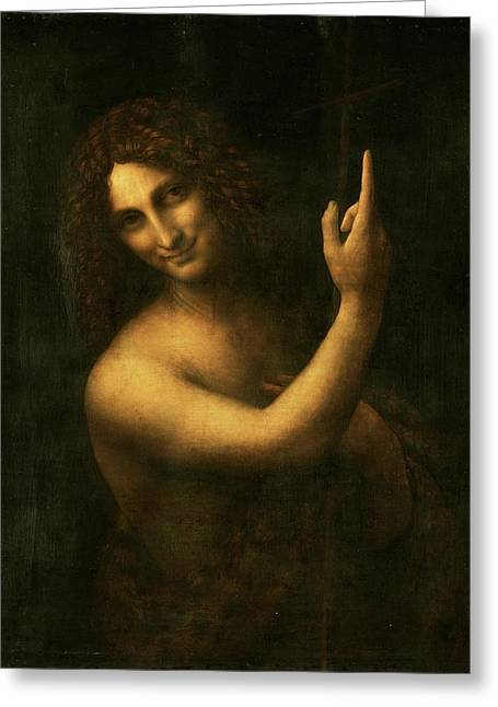 Saint John The Baptist Greeting Card