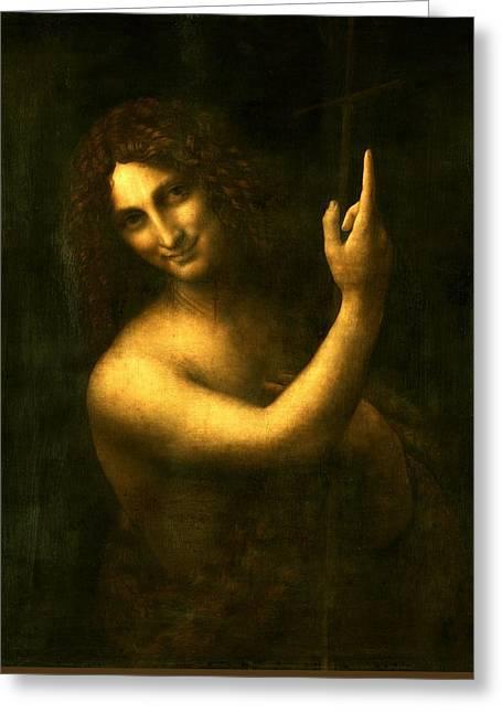 Saint John The Baptist Greeting Card