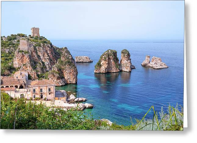 Scopello - Sicily Greeting Card