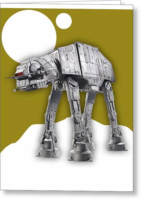 Star Wars At-at Collection Greeting Card
