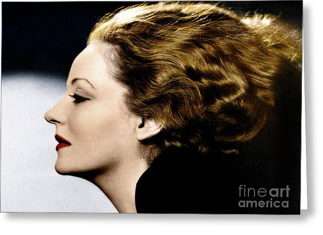 Greeting Card featuring the photograph Tallulah Bankhead by Granger