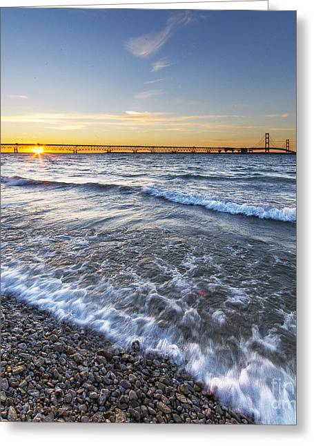 The Mackinac Bridge Greeting Card