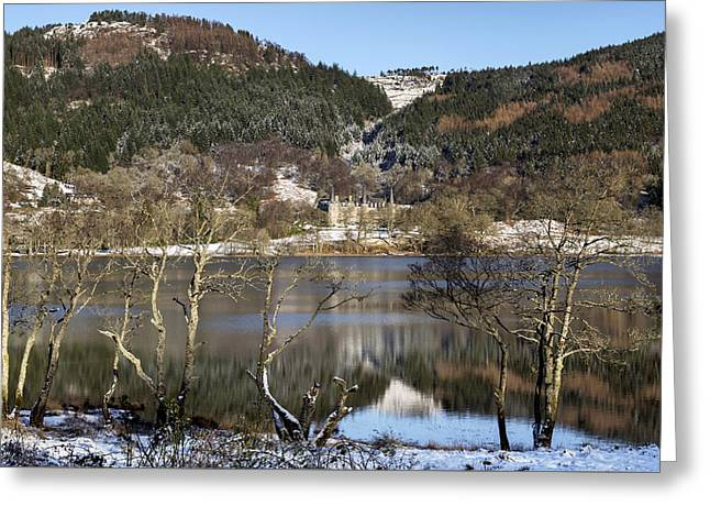 Trossachs Scenery In Scotland Greeting Card by Jeremy Lavender Photography